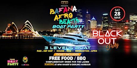 The Biggest Afrobeats x Dancehall x Reggaeton x Hip Hop Boat Party tickets