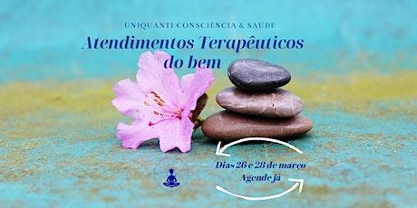 ATENDIMENTOS TERAPÊUTICOS DO BEM - 23 de Abril ingressos