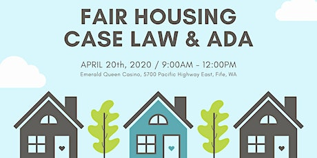 Fair Housing Case Law and ADA tickets