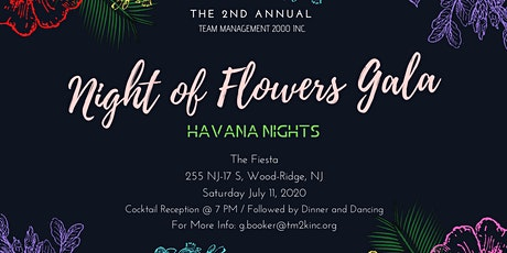 "TM2K's 2nd Annual ""Night of Flowers"" Gala  tickets"