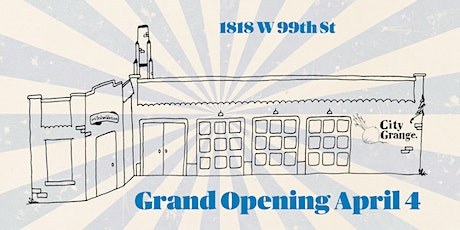 City Grange Beverly Grand Opening April 4 tickets