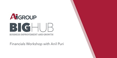Numbers...the Language of Business Workshop with Anil Puri tickets