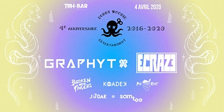 POSTPONED // Dubby Anniversary : ECRAZE X GRAPHYT billets