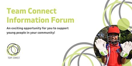 Team Connect Information Forum tickets