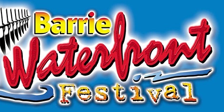 Barrie Waterfront Festival tickets