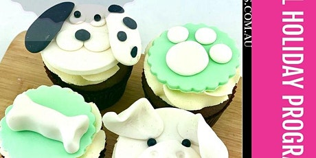 'I Love my Dog' Cupcake Cake Class School Holiday Programme tickets