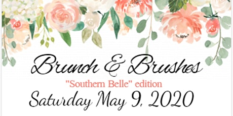 """Brunch & Brushes ATL Mother's Day : """"Southern Belle"""" edition tickets"""