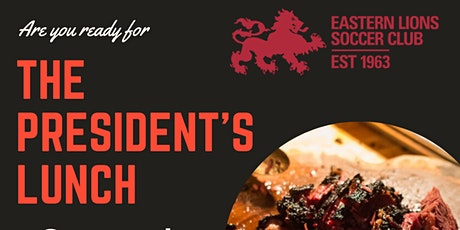 Eastern Lions President's Lunch tickets