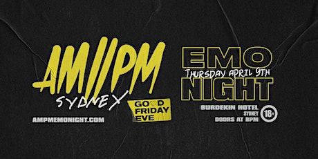 AM//PM Emo Night: Sydney tickets