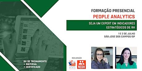 Formação em People Analytics | São José dos Campos ingressos