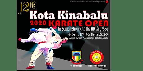 POSTPHONED: 12th Kota Kinabalu 2020 Karate Open tickets