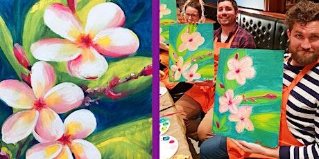 Painting Frangipanis - BYO Drinks tickets