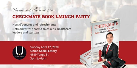 Checkmate Book Launch Party - POSTPONED tickets