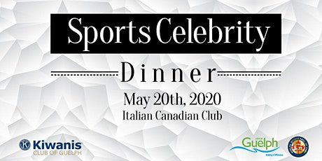 2020 Guelph Sports Hall Fame Induction & Kiwanis Sports Celebrity Dinner tickets