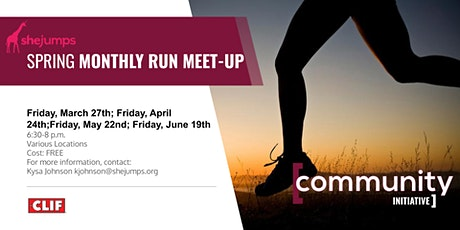 WA SheJumps Spring Monthly Run Meet-Up tickets