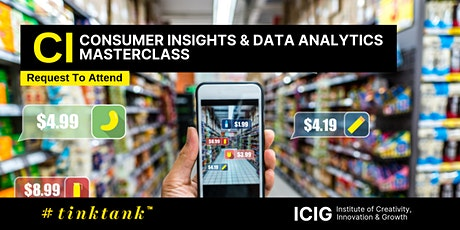CONSUMER INSIGHTS (CI) & DATA ANALYTICS (DA) MASTERCLASS  (2 DAYS) tickets