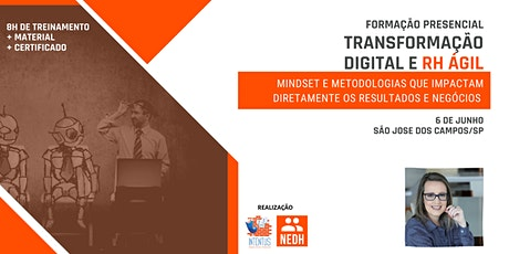 Transformação Digital e RH Ágil | São José dos Campos ingressos