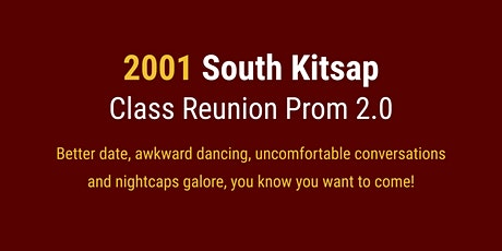 2001 High School Reunion tickets