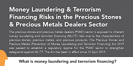PML01_PSPM: Anti-Money Laundering, Countering Terrorism Financing in PSPM tickets