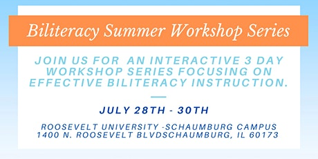 Adelante Biliteracy Summer Workshop Series tickets