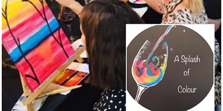 Splash of Colour, Sip n Paint tickets