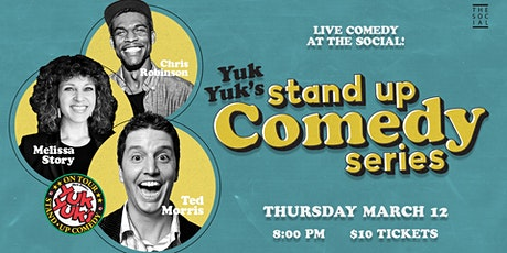 Yuk Yuk's Comedy Series at Social tickets