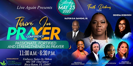 """""""Thrive In Prayer"""" Conference tickets"""