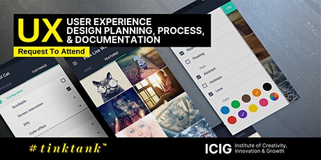 USER EXPERIENCE (UX): DESIGN PLANNING, PROCESS & DOCUMENTATION MAST tickets