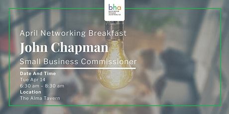 April Networking Breakfast tickets