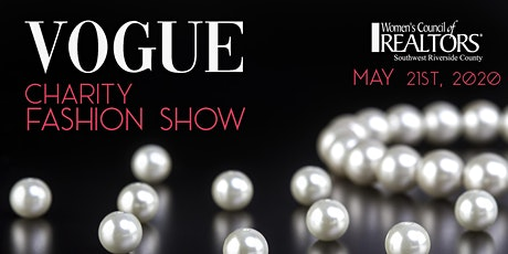 VOGUE ~ Charity Fashion Show tickets