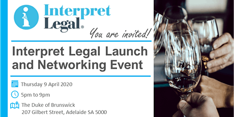Interpret Legal Launch and Networking Event tickets