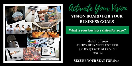 Activate Your Vision: Creating a Vision Board for your Business Goals tickets
