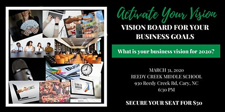 Activate Your Vision: Creating a Vision Board for your Business tickets