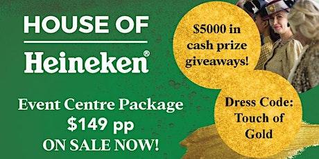 House of Heineken - Gold Coast Cup tickets