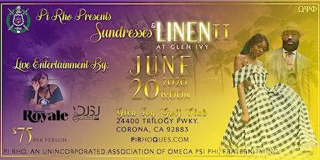 Sundresses and Linen II tickets
