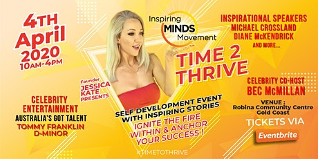 Time to Thrive Gold Coast tickets