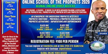 Online School of the Prophets 2020 tickets