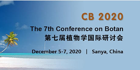 The 7th Conference on Botany (CB 2020) tickets