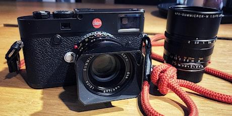 Fotografische Grundlagen mit Leica Tickets