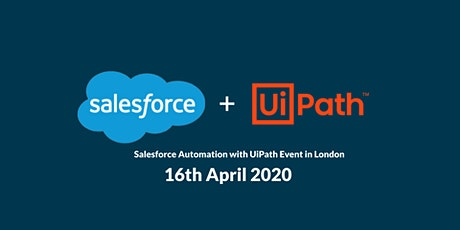 Salesforce automation with UiPath tickets