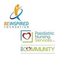 Be Inspired Foundation & Paediatric Nursing Services logo