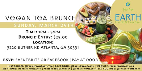 Vegan Tea Brunch tickets