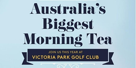 Biggest Morning Tea- Featuring Celebrity Cake Decorating Competition tickets