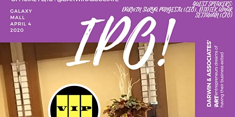 IPO! tickets