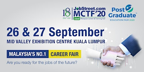 Post Graduate Education Fair 2020 - Mid Valley KL tickets