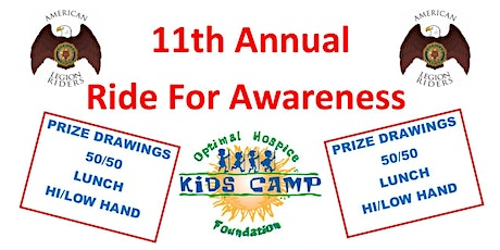 11th ANNUAL RIDE FOR AWARENESS tickets
