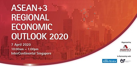 ASEAN+3 Regional Economic Outlook (AREO) 2020  Conference tickets