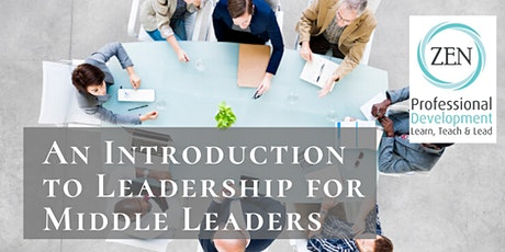 An Introduction to Leadership for Middle Leaders tickets