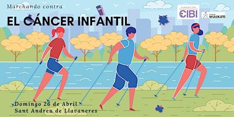 En marcha contra el cáncer infantil entradas