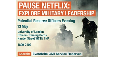 Potential Reserve Officers Open Evening tickets